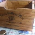 ワイン箱風収納BOX (3)
