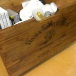 ワイン箱風収納BOX (4)