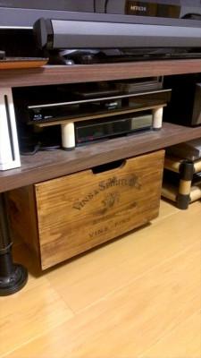 ワイン箱風収納BOX 設置