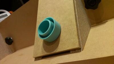 13 ルーターテーブル フェンス製作 吸塵ポート
