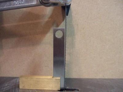 DW788 刃の垂直調整前