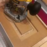 作業台兼テーブルソー(3) 改メ 「作業台兼ルーターテーブルソー」