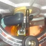 糸鋸盤 DeWALT DW788 の調整