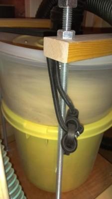 食器棚製作 06 集塵不調