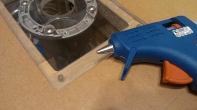 ルーターテーブルのインサートプレート改良