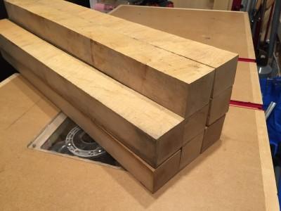 木材購入 ハードメイプル