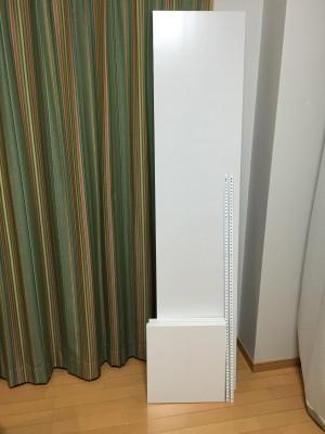 脱衣所の棚 1 材料
