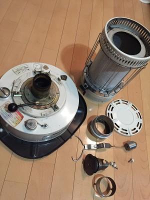 トヨストーブ CT-1C型 2.分解