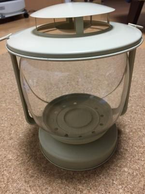 IKEA MORKT メタルカップ入りキャンドル用ランタン