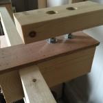 卓上スライド丸のこ用作業台 2