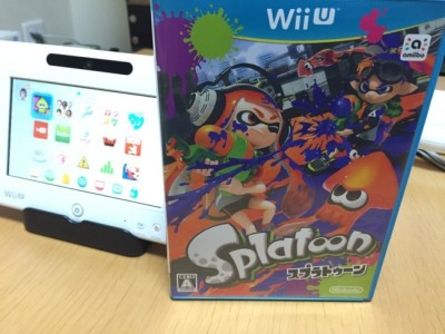 Nintendo WiiU with Splatoon