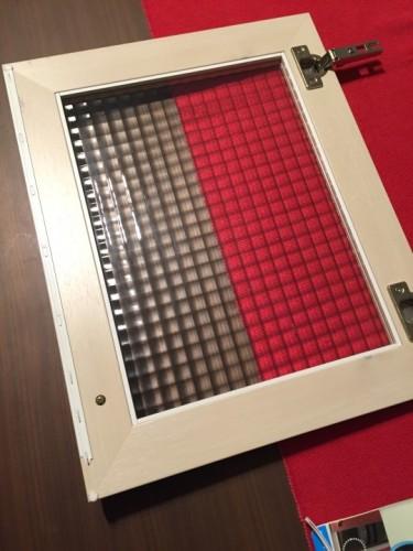食器棚の扉の修理 1