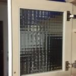 食器棚の扉のパッキン修理