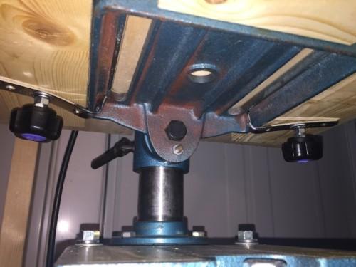 卓上ボール盤テーブル 14