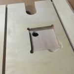 卓上ボール盤テーブル作成 (2)