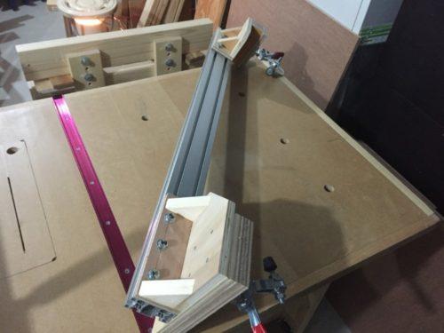 自作テーブルソー用 フェンス2